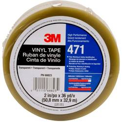 PVC tape 3M 471F 471T5033, (d x š) 33 m x 50 mm, priehľadná, 1 ks