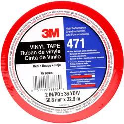 PVC tape 3M 471IW-R50-D, (d x š) 33 m x 50 mm, červená, 1 ks