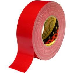 Páska so skleným vláknom 3M 389R100, (d x š) 50 m x 10 cm, červená, 1 ks