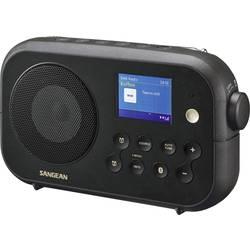 DAB+ prenosné rádio Sangean Traveller-420 (DPR-42Black), Bluetooth, UKW, čierna