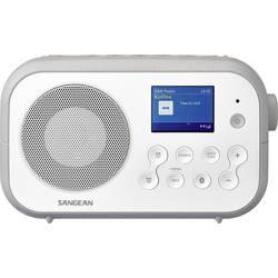 DAB+ prenosné rádio Sangean Traveller-420 (DPR-42 W/G), Bluetooth, UKW, biela, sivá