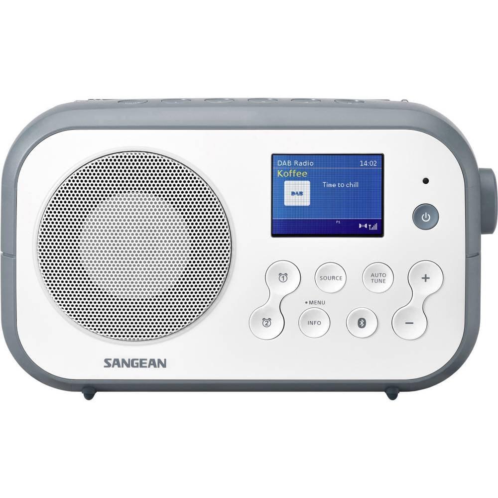 Sangean dab radio DPR-42BT wit-blauw