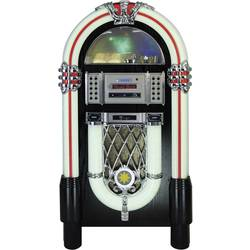 FM rádio s CD prehrávačom Silva Schneider Jukebox 250, CD, Bluetooth, SD, USB, farebná