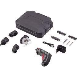Aku vŕtací skrutkovač Basetech ASS-830 TO-6443490, 4 V, 1500 mAh, Li-Ion akumulátor
