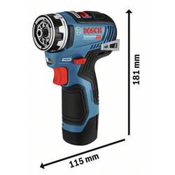 Aku vŕtací skrutkovač Bosch Professional 06019H3001, 12 V, Li-Ion akumulátor