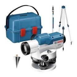 Optický nivelačný prístroj vr. statívu Bosch Professional Dosah (max.): 60 m, Optické zväčšenie (max.): 20 x, Kalibrované podľa: bez certifikátu
