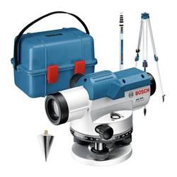 Optický nivelačný prístroj vr. statívu Bosch Professional Dosah (max.): 100 m, Optické zväčšenie (max.): 26 x, Kalibrované podľa: bez certifikátu