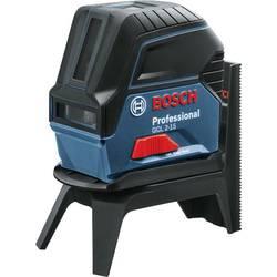 Bodový a čiarový laser Bosch Professional dosah (max.): 15 m, kalibrácia podľa: bez certifikátu