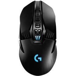 Optická herná myš Logitech Gaming G903 Lightspeed 910-005672, podsvietenie, je možné znovu nabíjať, bezdrôtové nabíjanie, úprava hmotnosti, čierna