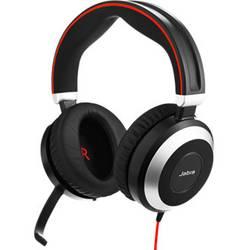 Náhlavná sada stereo Jabra Evolve 80 MS, stereo, bezdrôtový, čierna