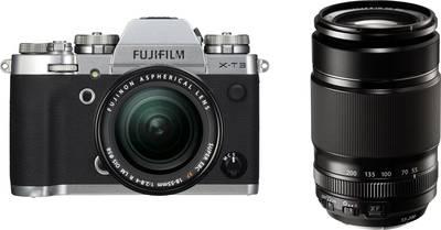 Fujifilm-Systemkamera inkl. Wechselobjektiv