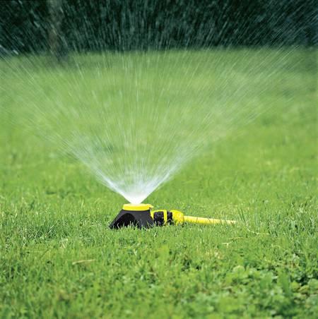 Richtige Bewässerung durch Rasensprenger
