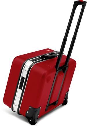 Tool cases as trolleys facilitate transportation