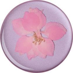 Stojan na mobil POPSOCKETS PopGrip Premium N/A, kvetinová, ružová
