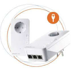 Powerline Starter Kit Devolo Magic 2 LAN triple Starter Kit EU, 2.4 GBit/s