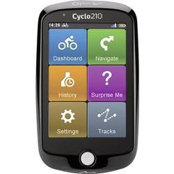 Navigácia na bicykel kolo MIO CYCLO 210 pro Evropu, chránené proti striekajúcej vode, GPS