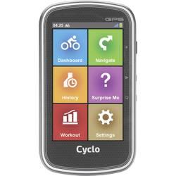 Navigácia na bicykel kolo MIO CYCLO 400 pro Evropu, chránené proti striekajúcej vode, GPS