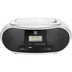 DAB+ rádio s CD prehrávačom Dual DAB-P 170, AUX, Bluetooth, CD, UKW, USB, strieborná, čierna