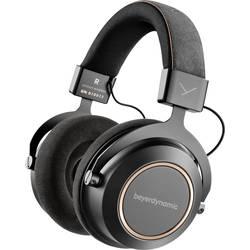 Bluetooth Hi-Fi slúchadlá Over Ear beyerdynamic Amiron Copper 718602, čierna, meď