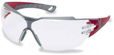 Schwarz,Grau Uvex i-vo Schutz B/ügelbrille Supravision Excellence  Transparent