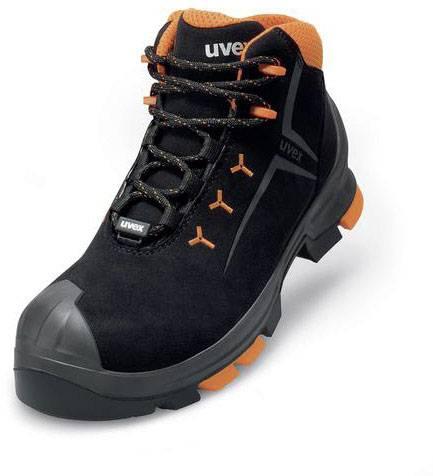 uvex   Stiefel 6503 schwarzorange PUR