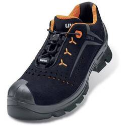 Bezpečnostná obuv ESD (antistatická) S1P Uvex 2 Vibram 6521243, veľ.: 43, čierna, oranžová, 1 pár