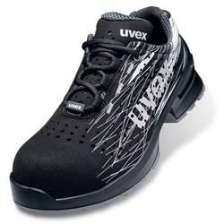 Bezpečnostná obuv ESD (antistatická) S1 Uvex 1 print 6551839, veľ.: 39, čierna, 1 pár
