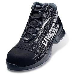 Bezpečnostná obuv ESD (antistatická) S1 Uvex 1 print 6553839, veľ.: 39, čierna, 1 pár