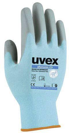 Uvex Phynomic Wet Plus Arbeitshandschuhe 09//L 1 Paar Profi-Schutzhandschuhe