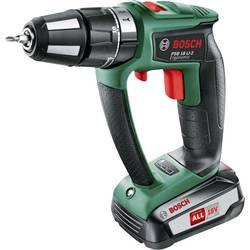 Aku príklepová vŕtačka Bosch Home and Garden +PSB 18 LI-2 Ergonomic ohne Akku 2,5 Ah 06039B0302, 18 V, 2.5 Ah, Li-Ion akumulátor