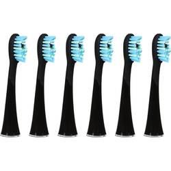 Image of AILORIA Extra Clean Shine Bright Aufsteckbürsten für elektrische Zahnbürste 6 St. Weiß