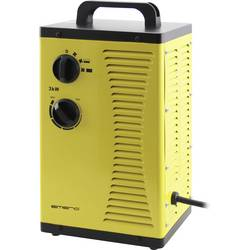Keramický topný ventilátor EMERIO FH-110705 FH-110705, 20 m², 3000 W, žlutá, černá
