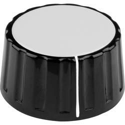 Otočný gombík Mentor 335.6, (Ø x v) 48 mm x 19 mm, čierna, 1 ks