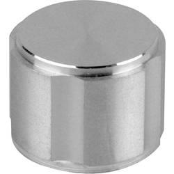 Otočný gombík Mentor 5574.6000, (Ø x v) 28 mm x 17 mm, hliník, 1 ks