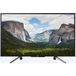 Sony KDL50WF665 LED TV 126 cm 50 palca DVB-T2, DVB-C, DVB-S, Full HD, Smart TV, WLAN, PVR ready, CI+ čierna