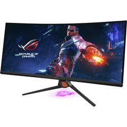 Asus PG35VQ herný monitor 88.9 cm (35 palca) en.trieda B (A +++ - D) 3440 x 1440 px UWQHD 2 ms HDMI ™, DisplayPort, na slúchadlá (jack 3,5 mm), USB 3.0 VA LED