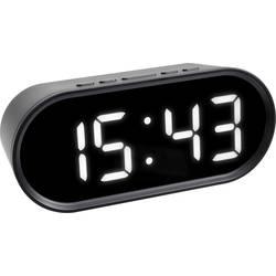 Quartz budík TFA Dostmann 60.2025.01, časov budenia 1, čierna