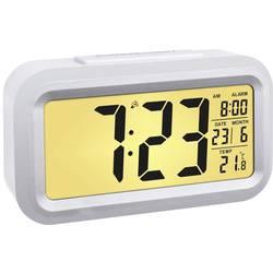 DCF budík TFA Dostmann Lumio Plus 60.2553.02, časov budenia 1, strieborná, biela
