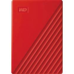 "Externý pevný disk 6,35 cm (2,5"") WD My Passport, 2 TB, USB 3.2 Gen 1 (USB 3.0), červená"