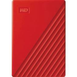 """Externý pevný disk 6,35 cm (2,5"""") WD My Passport, 4 TB, USB 3.0, červená"""