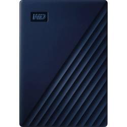"""Externý pevný disk 6,35 cm (2,5"""") WD My Passport for Mac, 4 TB, USB-C™, modrá"""