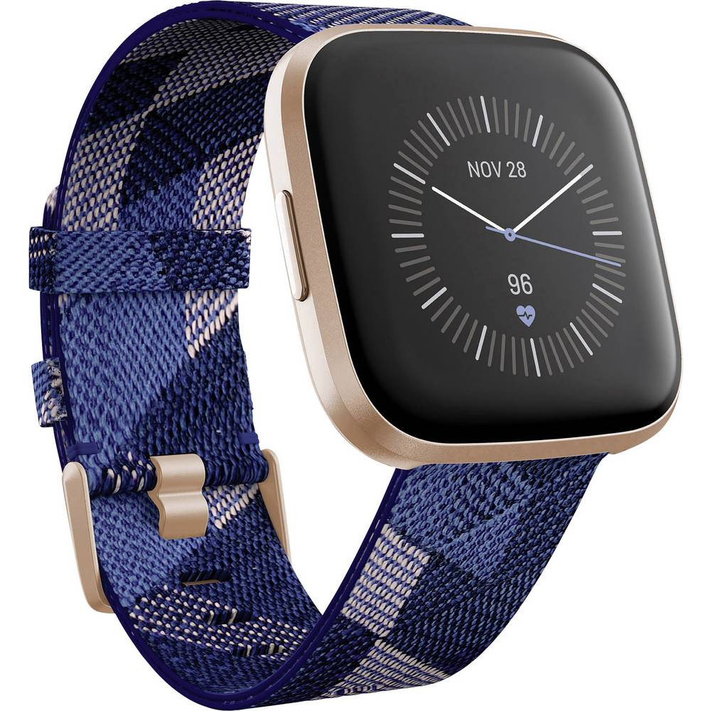 FitBit Versa 2 SE Smartwatch Uni Blauw, Roze