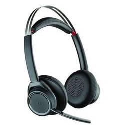Telefónne headset Plantronics Voyager Focus UC, bezdrôtový, stereo, čierna