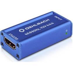 HDMI ™ repeater Oehlbach UHD, 25 m, N/A