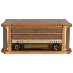 USB gramofón Reflexion HIF2002 s remienkovým náhonom, drevo