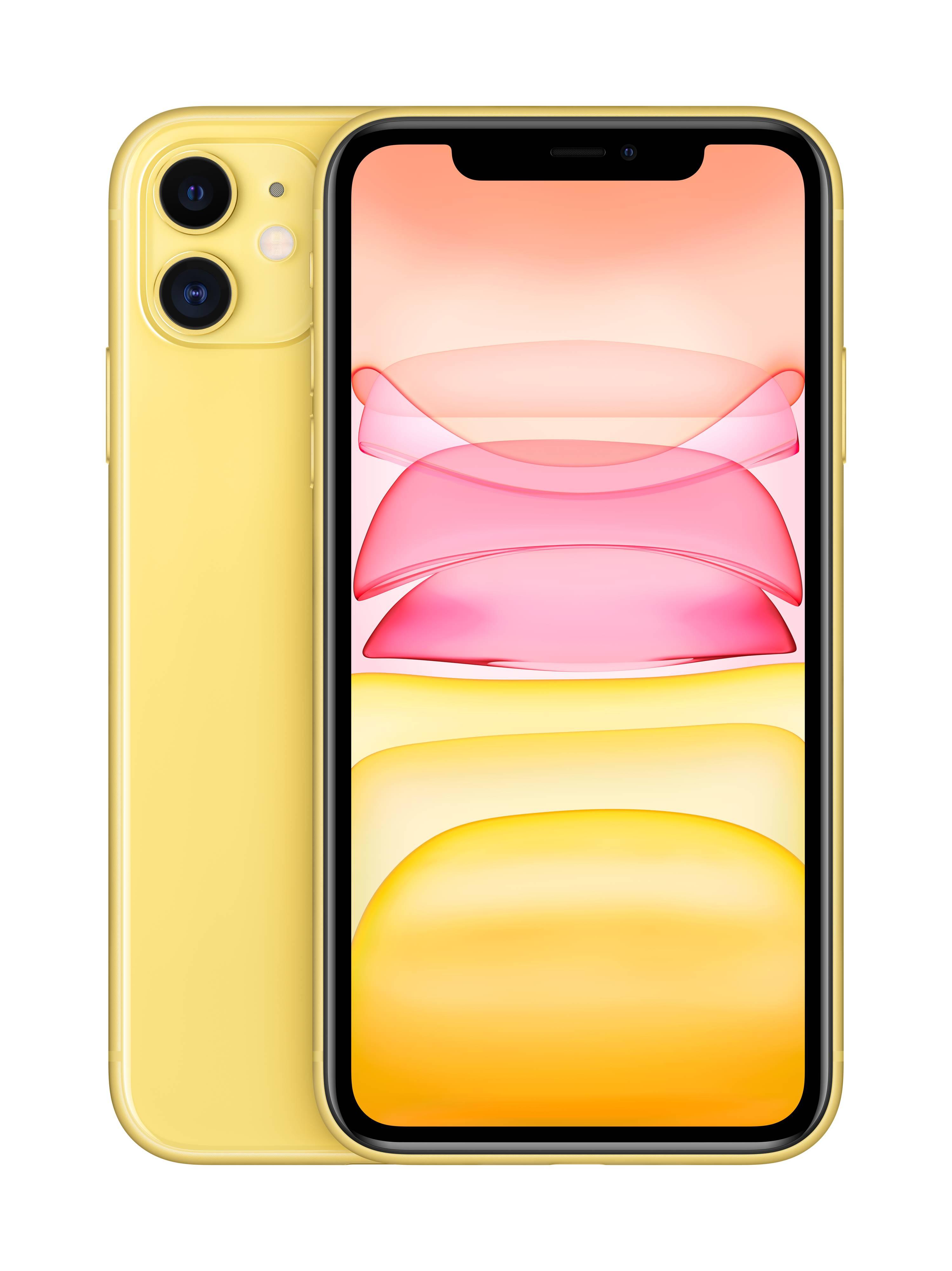 Apple iPhone 11 256 GB 6.1 Zoll (15.5 cm) iOS 13 12 Megapixel Gelb