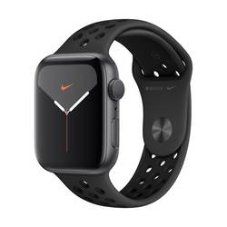 Image of Apple Watch Nike+ Series 5 44 mm Aluminiumgehäuse Spacegrau Sportarmband Schwarz