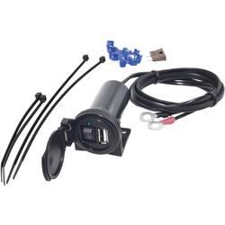 BAAS USB palubná zásuvka do vozidla 2.1A s odklápacím pružinovým krytom Prúdová zaťažiteľnosť (max.)=2.1 A