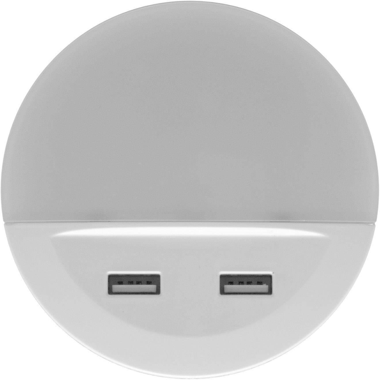 LEDVANCE LUNETTA USB L 4058075266902 LED Nachtlicht Rund LED Warm Weiß Weiß