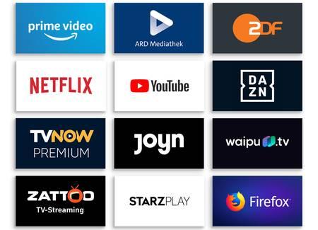 Sender, Apps und Websites